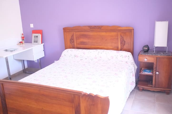 Room to garden close to beaches + private bathroom - Narbonne - Rumah