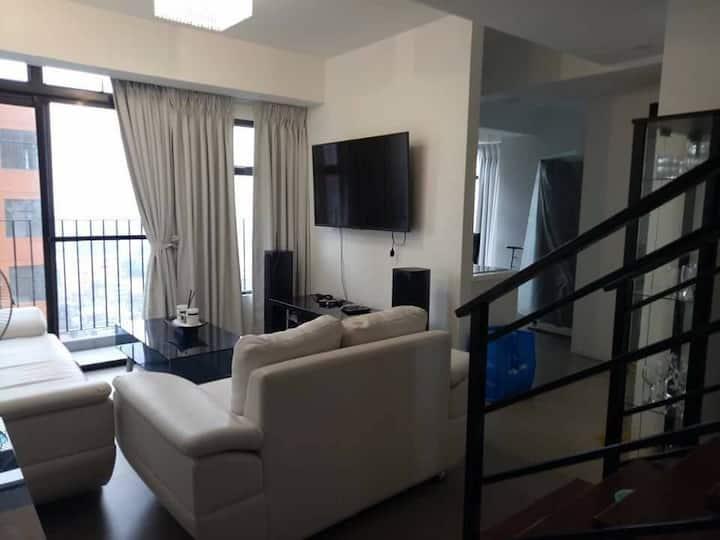 Elegant Luxury Penthouse in  Cubao Quezon City.