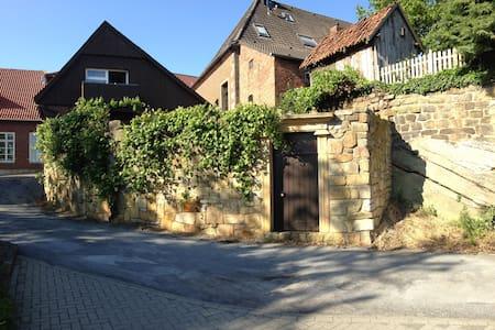 Vakwerkhuis  uit 1815 met 3 suites - Bad Bentheim