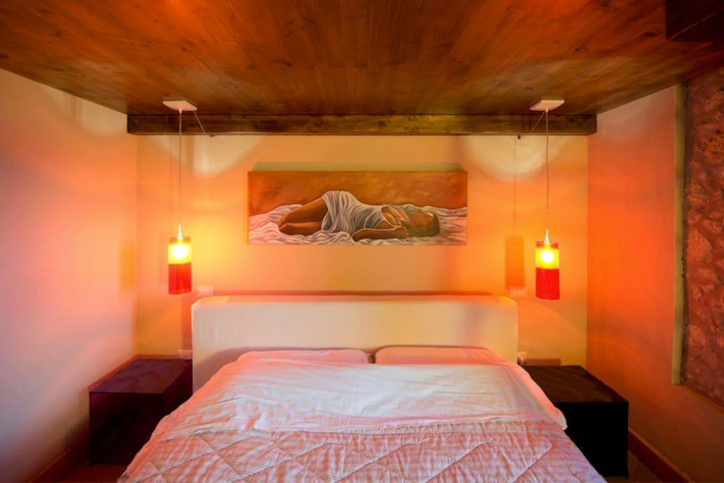 Camera da letto eolie
