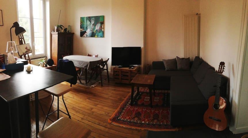 Appartement tout confort en hyper centre - Charleville-Mézières - Apartamento