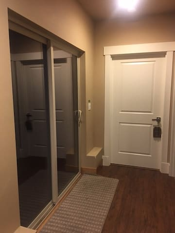 Private Entrance to Bedroom Area