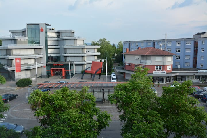 Apartment in border triangl (Basel) - Weil am Rhein - Lejlighed