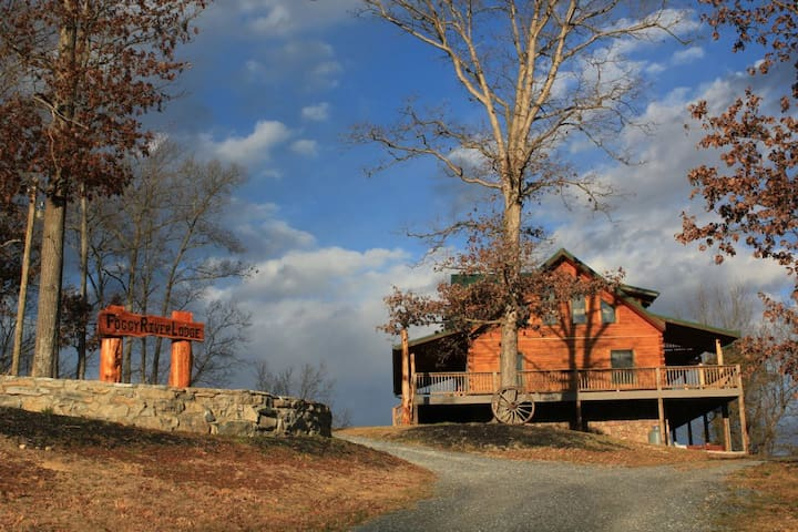 Foggy River Lodge on the Shenandoah - Luray - Houten huisje