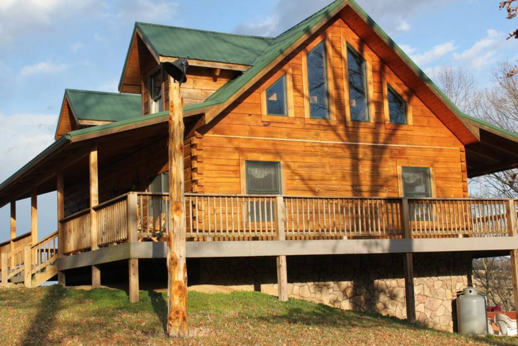 Foggy River Lodge On The Shenandoah Cabins For Rent In