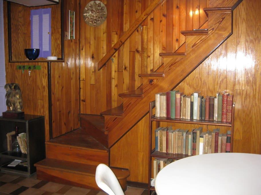 Stairs to Main Floor