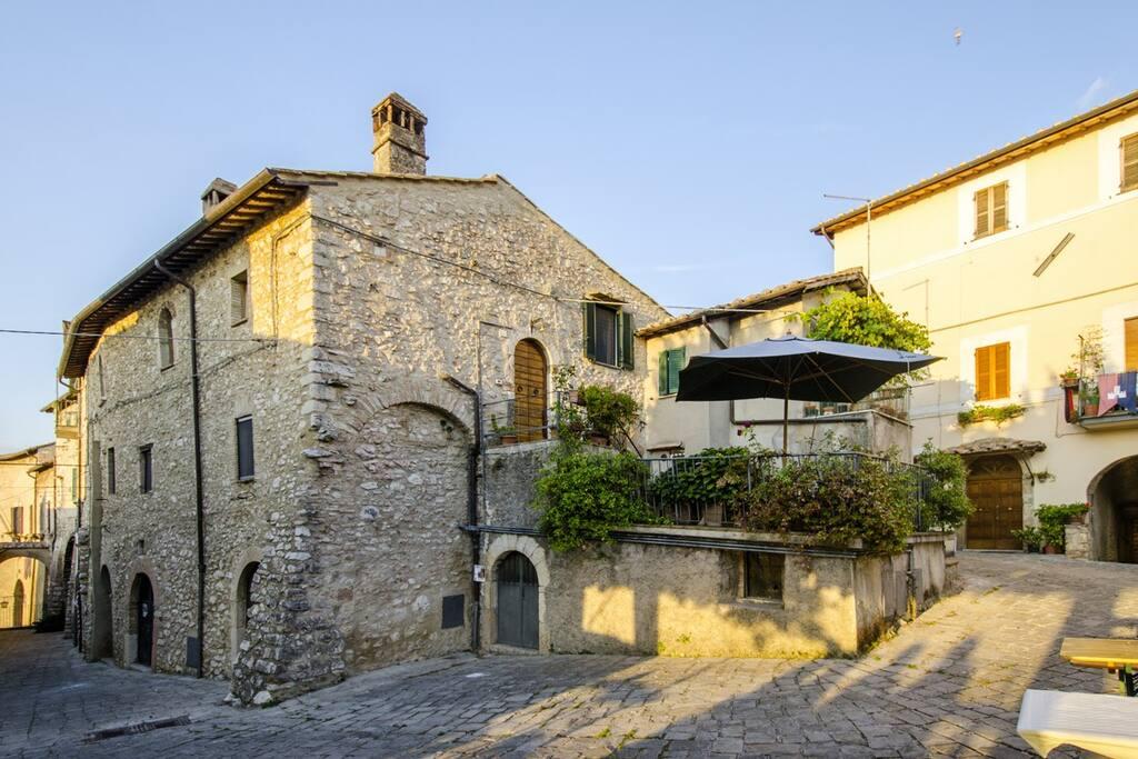 Casa della Torre-esterno