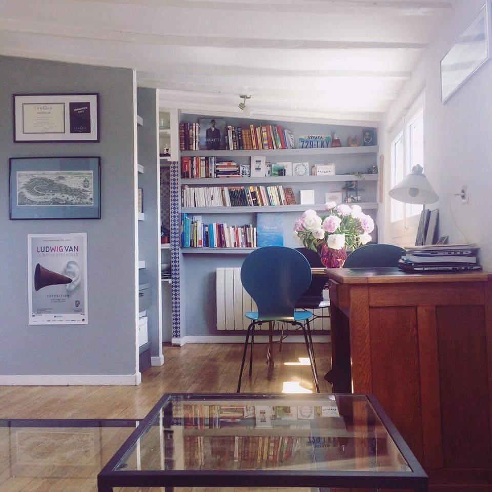 Salle à manger, bureau et salon avec canapé 3 places + canapé-lit 140x190