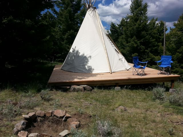 Relaxing, Secluded Tipi - Whitehall