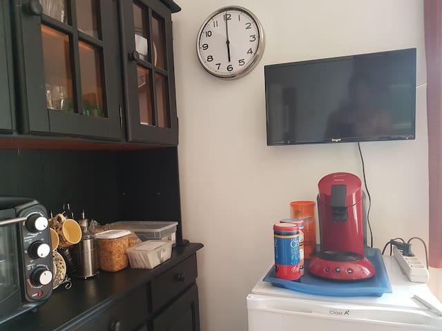 Zona desayuno huéspedes