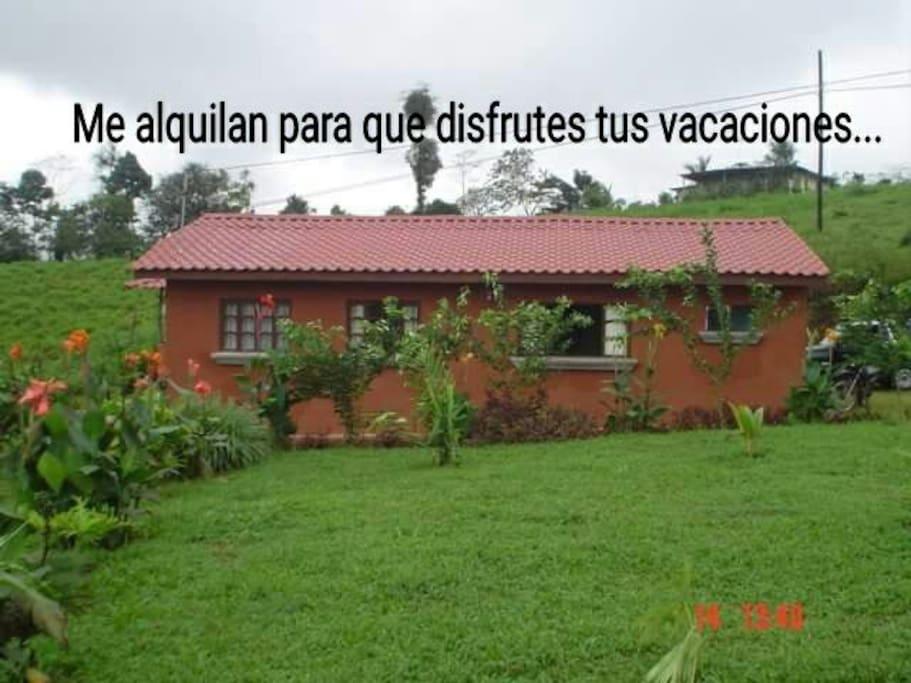 Casa p vacacionar vista v arenal case in affitto a for Case affitto costa rica