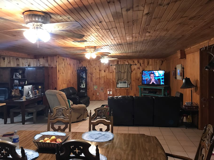 This is looking into the living room area