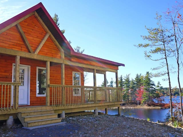 Dean Lake Chalet & private islands