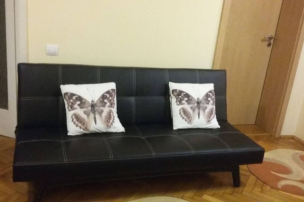 The butterfly sofa
