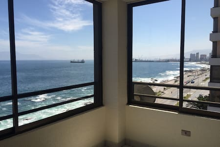 Great room facing the sea and the beach! - Antofagasta