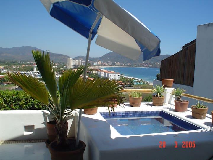 Ixtapa con linda vista al mar