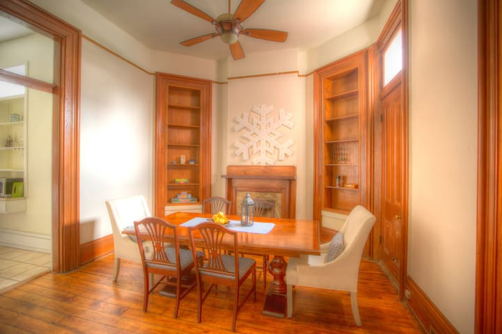 Dining Room-formal seating.    Board games available.