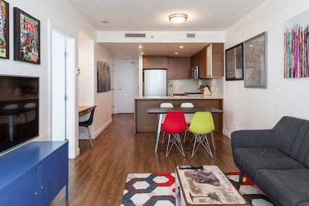 Stylish 1 BDRM + Den + 1 Parking - Richmond - Apartment