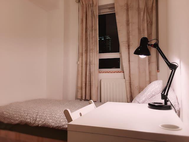 Comfortable single bedroom - 伦敦 - Apartamento