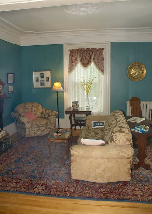 Large elegant parlour for our guests to relax in.