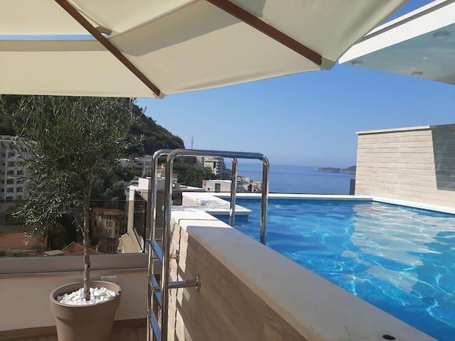 New Studio Rafailovići Budva, 200m From Beach (SS)