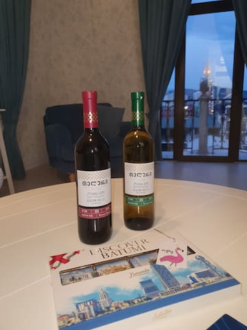 Our VIP package - wine and chocolate