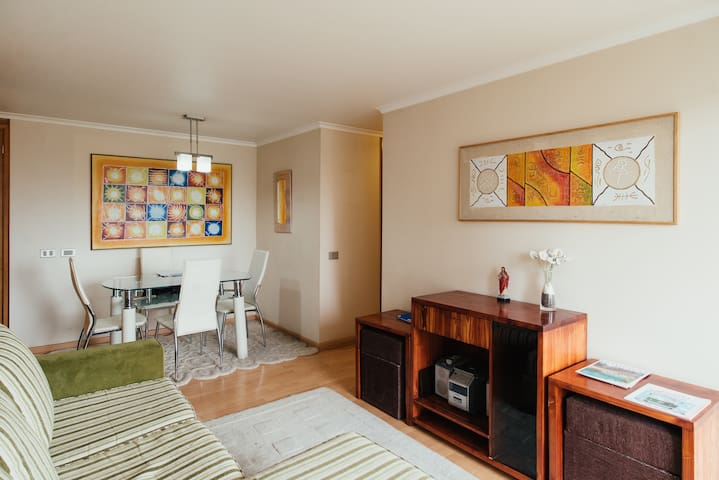 2 rooms/4 guest, great location - Las Condes - Apartemen