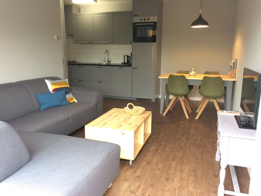 Appartement aan de rand van het bos appartementen te huur in de koog noord holland nederland - Deco van het appartement ...