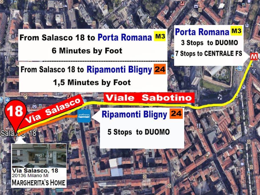 Margherita's home Via Salasco 18, 20136 Milano