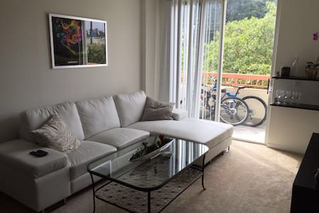Queen size bedroom in Downtown - Miami - Apartment