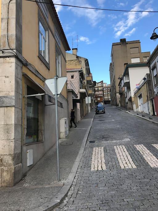 Rua da Alegria , acesso a Travessa da Rua da Alegria