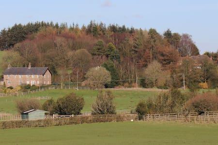 Large Stone Farmhouse with Amazing views.