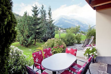 Serene Apartment in Tobadill with Balcony, Garden, Parking