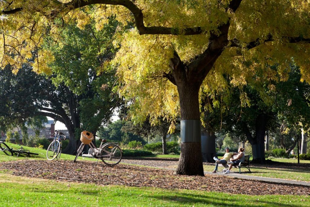 Beautiful Flagstaff gardens, just 2mins walk from the apartment. Unwind and relax in blissful serenity!