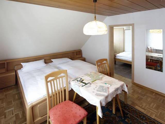 Pension Braun (Winterberg/Stadt) -, Dreibettzimmer Nr. 4 - perfekte Lage im Zentrum Winterbergs