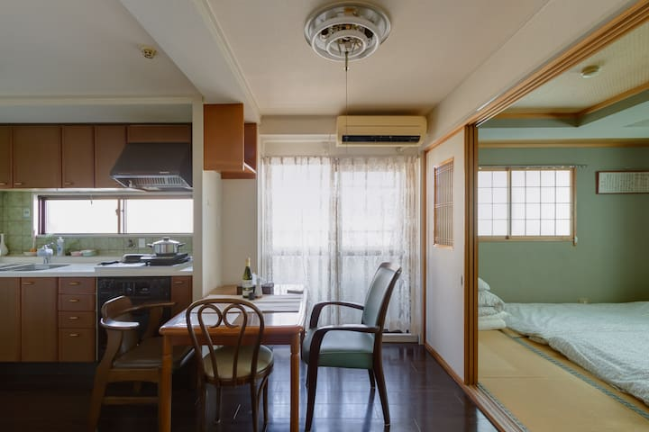 FREE Additional Fee☆Osaka Castle 2 minute JR☆3room - Miyakojima-ku, Ōsaka-shi - Lägenhet