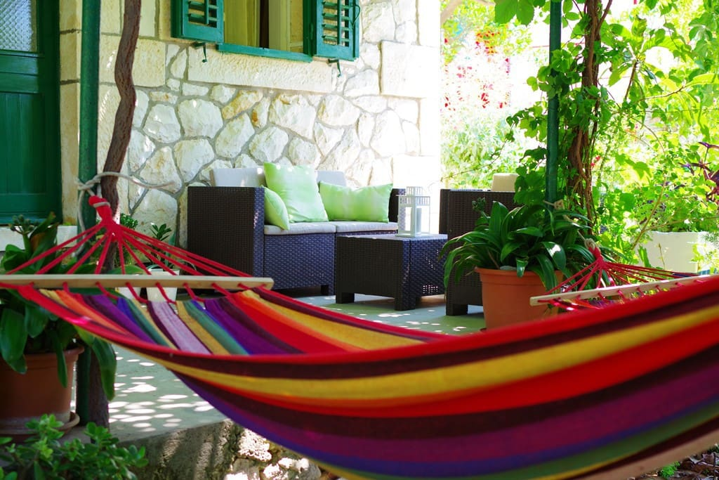 Hammocks for chilling out...