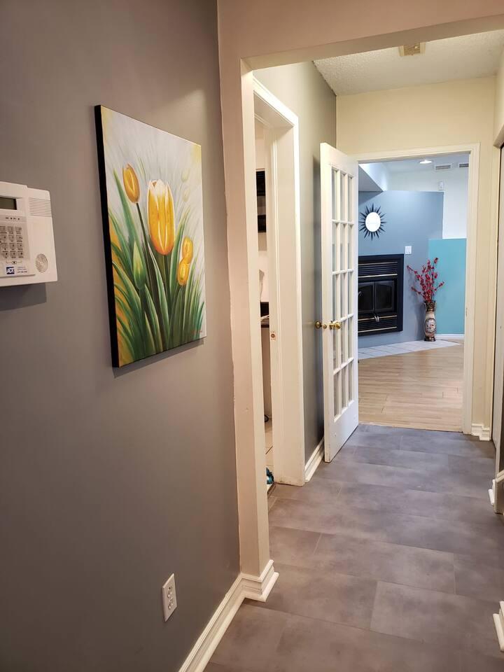 Cozy - Private Entrance - 1 bedroom