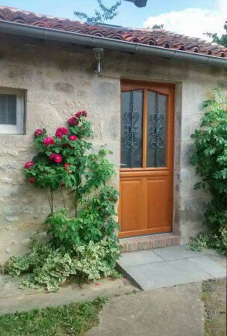 Your own private entrance, ground floor easy access room, the annexe to the rear of our cottage