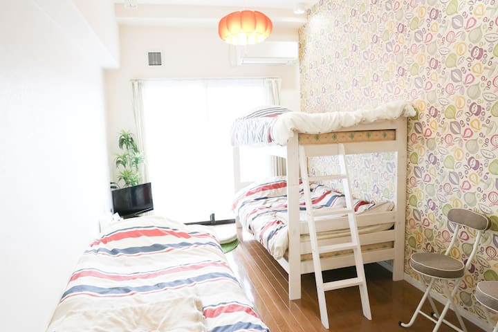 Best Location for Matsuyama Tourism - Matsuyama-shi - Appartement