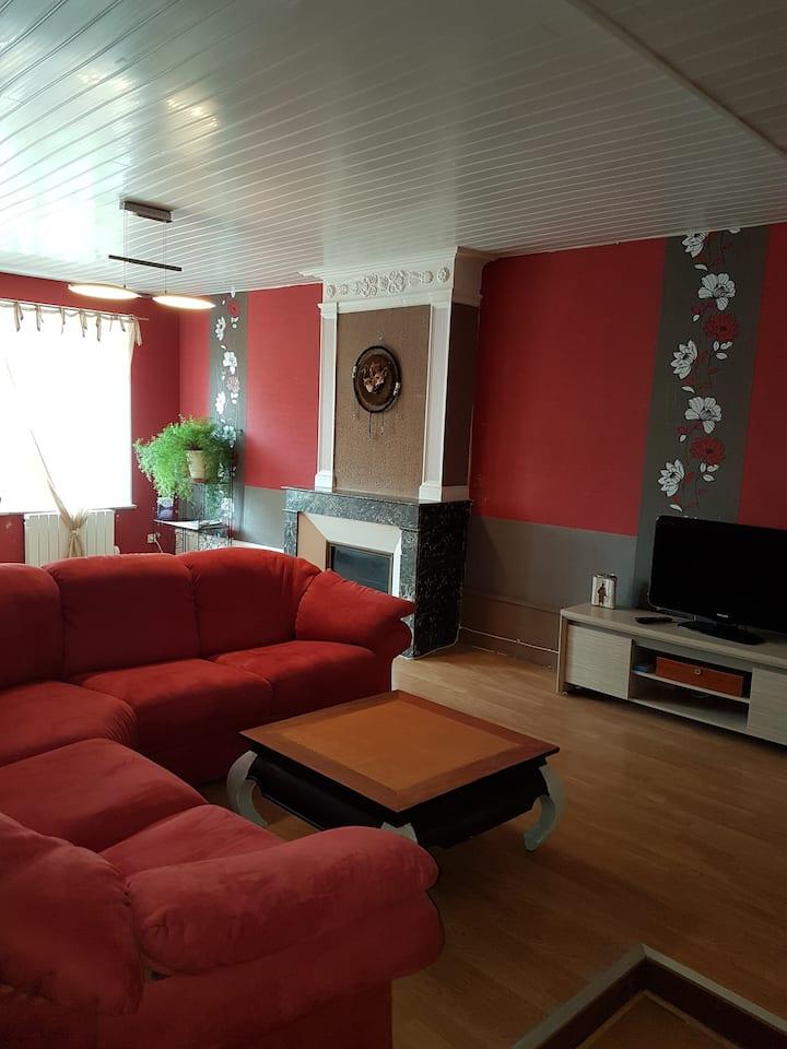 Appartement calme , spacieux ensoleillé