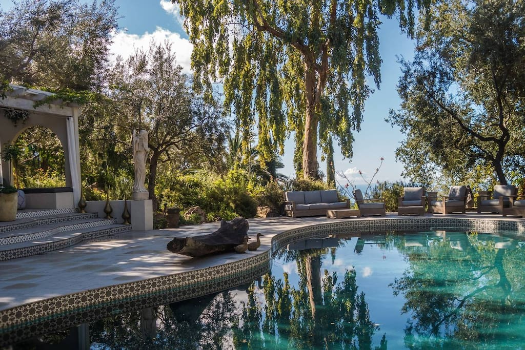Triple Oxyginated Saline Pool With Ocean View