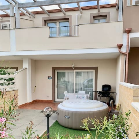 別墅配有WiFi、空調、按摩浴缸4973