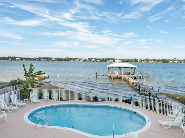 Gulf Shores Duplex On Golden Pond - Gulf Shores - Huis