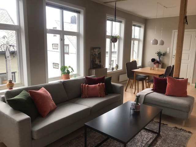 Modern apartment in the city center of Ålesund