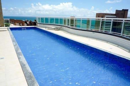 Flat com belíssima vista para Beira Mar Fortaleza
