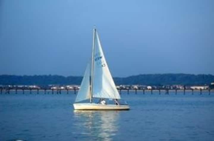 Resort Location on the Potomac River, 2Bed/2Bath