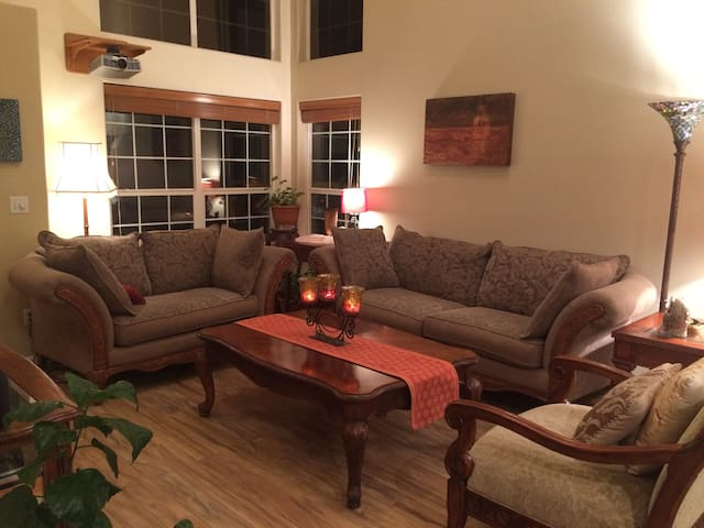 Quiet, private, NW house by foothills & park - Boise - Casa