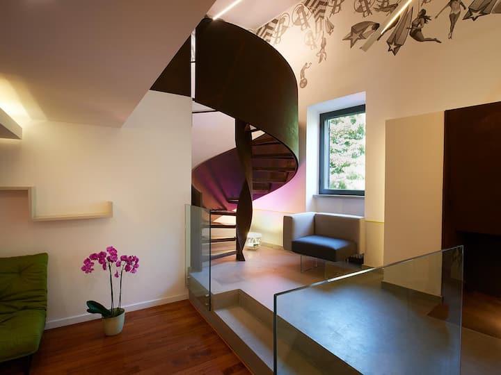 Luxury Loft with private Wellness Area and Sauna