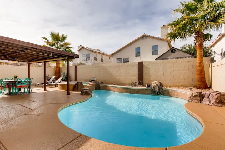 Cozy Private Home With Pool And Free Heated Spa Houses For Rent In Las Vegas Nevada United States